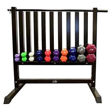 j/fit Vinyl Dumbbell Rack (JFIT509)