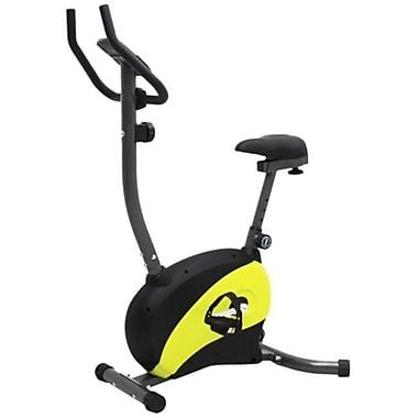 Iliving USA Magnetic Upright Bike with Adjustable Seat, Yellow (DRHT036)