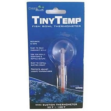 Aquino Deep Blue Tiny Temperature Bowl Thermometer (PLFD24805)