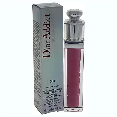 Christian Dior 0.18 oz. No. 369 Dior Addict Ultra Lip Gloss - Tell Me Dior (PWW37423)