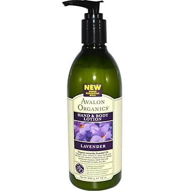 Avalon Organics Hand and Body Lotion Lavender, 12 fl. oz. (SPDSP9673)