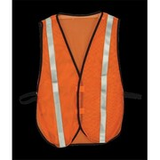 2W Economy Mesh Safety Vest - Lime Yellow (2WIT065)