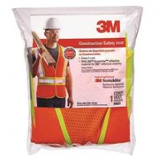 3M Safety Vest with Reflective Clothing, Hi-Viz Orange (ORGL111409)