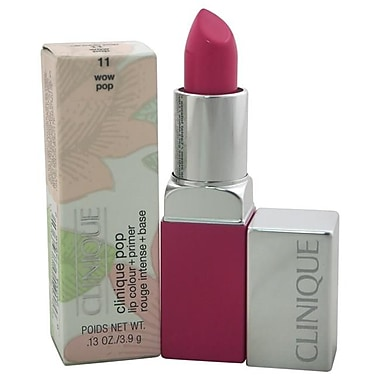 Clinique Pop Lip Color Plus Primer - No. 11 Wow Pop Lipstick - 0.13 oz. (PWW40357)