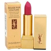 Yves Saint Laurent 0.13 oz. No. 7 Rouge Pure Couture Pure Color Satiny Radiance Lipstick - Le Fuchsia (PWW37503)