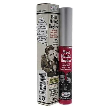 The Balm Meet Matte Hughes Long Lasting Liquid Lipstick Chivalrous Lip Gloss - 0.25 oz. (PWW40829)