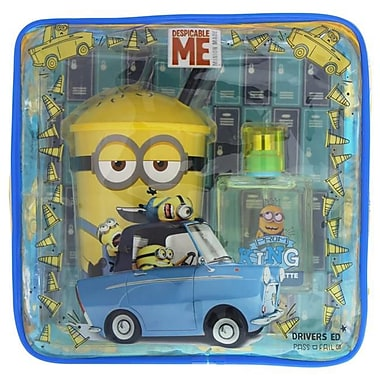 Minions Gift Set for Kids, 1.7 oz. - 3 Piece (PWW40760)