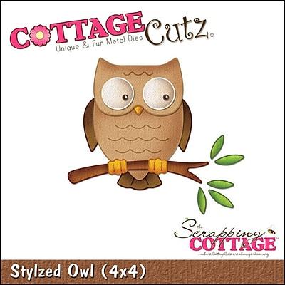 CottageCutz Die-Stylized Owl 2.9