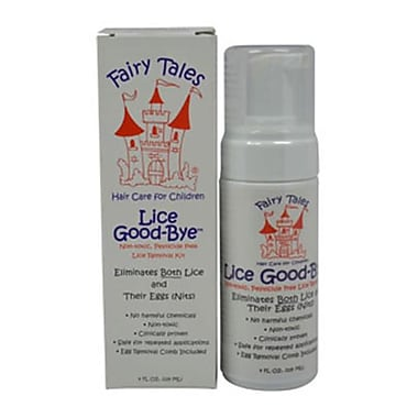Fairy Tales 4 oz. Lice Goodbye Nit Removal Kit with Comb (PWW24209)