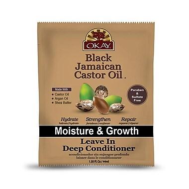 OKAY Black Jamaican Castor Oil Leave in Conditioner, 1.5 oz. (XTBI155)
