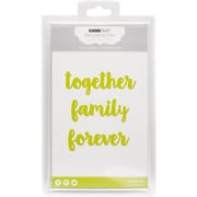 "Kaisercraft Dies-Together, Family, Forever 1.5""X4"""