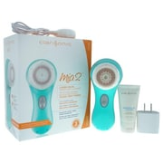 Clarisonic 5 Piece Women Mia 2 Facial Sonic Cleansing System Kit, Sea Breeze (PWW37821)