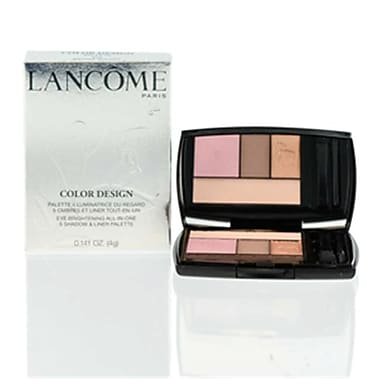 Lancome 0.141 oz Color Design 5 Shadow & Liner Palette for 202 Sienna Sultry (CSMP9660)