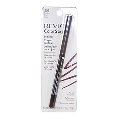 Revlon ColorStay Eyeliner Pencil No.203 Brown, 0.28 oz, Eyeliner Pencil (PWW15533)