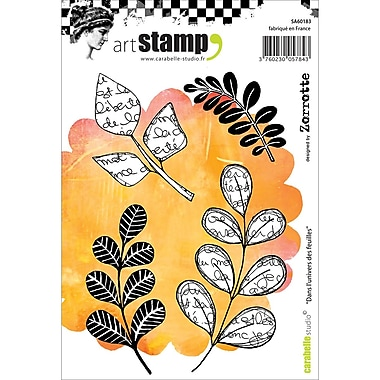 Carabelle Studio Cling Stamp A6-In The World Of Leaves