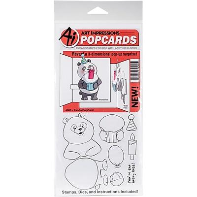 Art Impressions PopCard-Panda