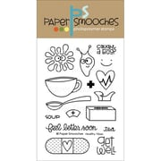 "Paper Smooches Clear Stamps 4""X6"" -Healthy Vibes"