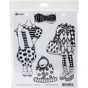"""Dyan Reaveley's Dylusions Cling Stamp Collections 8.5""""X7""""-These Boots Are Made..."""
