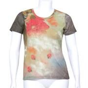 Silvert's Ladies Fashionable Top, Large - Fuchsia (SVTA7246)