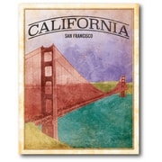 California Wrapped Canvas