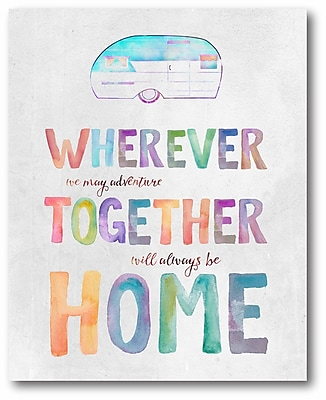 Home is where are you are Wall Art