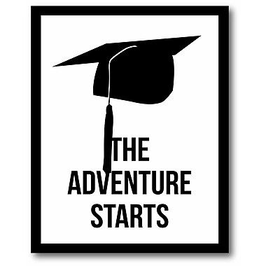 The adventure starts Wall Art