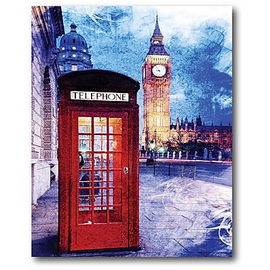 London Wrapped Canvas