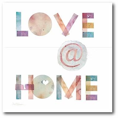 Love at home Wall Art