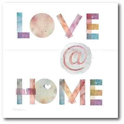 Love at home Wall Art