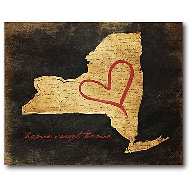 Home Sweet Home NY Wall Art