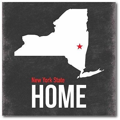 New York State Canvas Wall Art