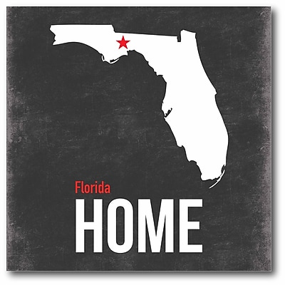 Florida State Canvas Wall Art