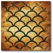 Black Gold Geo Wall Art
