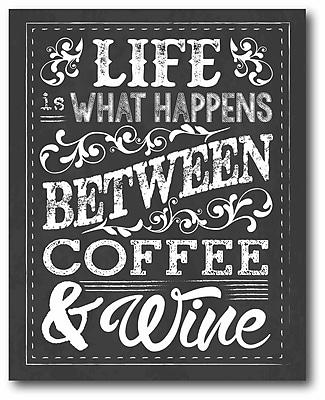 Chalk Coffee Wine Wall Art