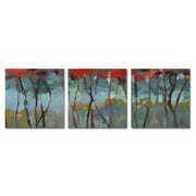Gray & Red Forest Multiple Canvas Wall Art