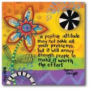 A Positive Attitude Wall Art