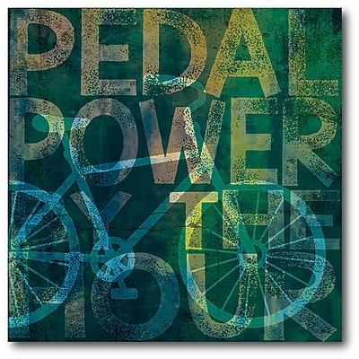 Bikes Aqua I Wall Art