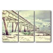 Long Pier Multiple Canvas Wall Art
