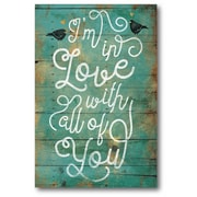 In Love Wall Art