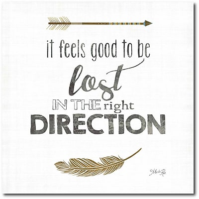 Direction Canvas Wall Art