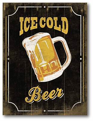 Ice Cold Beer I Wall Art