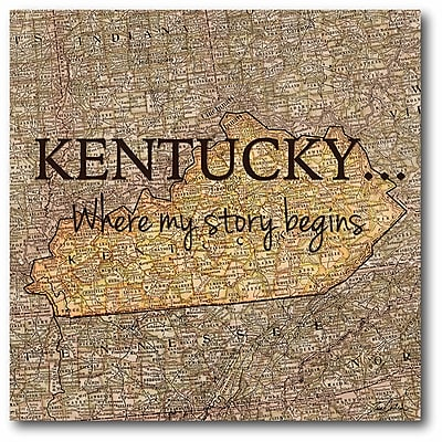 Story Kentucky Wall Art