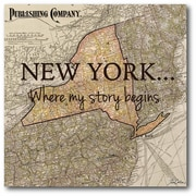 New York My Story Wall Art
