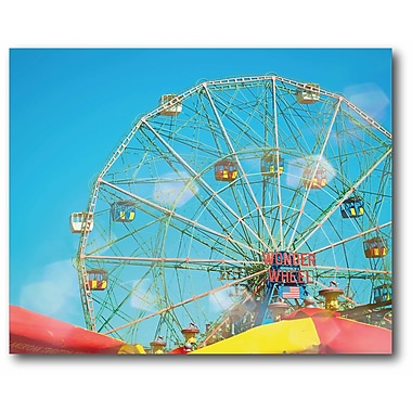 Coney Island Wrapped Canvas