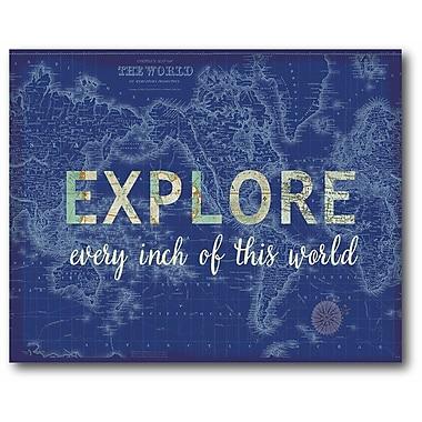 Explore Wrapped Canvas
