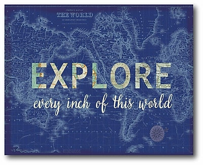 Explore Wrapped Canvas