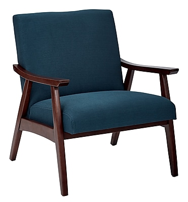 Ave Six Klein Azure Fabric Davis Accent Chair (DVS51-K14)