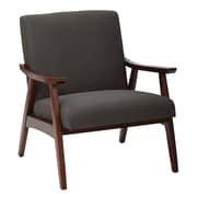 Ave Six Klein Charcoal Fabric Davis Accent Chair (DVS51-K26)