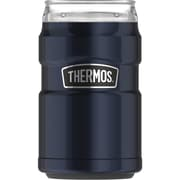 Thermos 10-Ounce Stainless Steel Tumbler with 360 degrees Drink Lid, Midnight Blue (SK1500MB4)