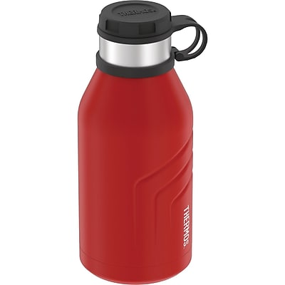 Thermos 32-Ounce Bottle with Screw-top Lid, Red (TS4800RD4)